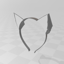 Capture.PNG Download free STL file Neko-mimi headband • Design to 3D print, LuliasMartch