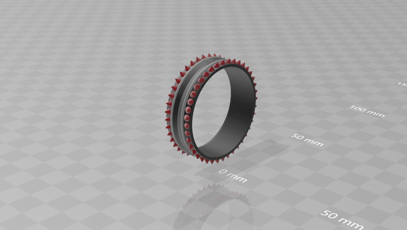 captur.PNG Download free STL file Closed Ring • Template to 3D print, LuliasMartch