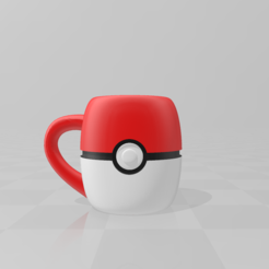 Download free STL Mug PokeBall, LuliasMartch