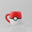 Capture.PNG Download free STL file Mug PokeBall • 3D printing design, LuliasMartch