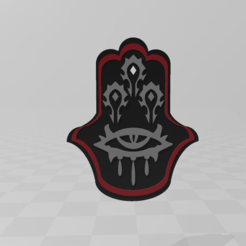 Download free 3D printer designs Hand of magic, LuliasMartch