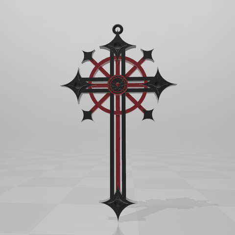 Download free 3D printing files Gothic Cross, LuliasMartch