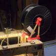 Capture d'écran 2017-02-24 à 16.27.58.png Download free STL file  Thing-O-Matic Filament Spool Bracket • 3D printable object, WorksBySolo