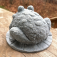 Capture d'écran 2017-02-24 à 16.39.55.png Download free STL file Garden Toad • 3D printing object, WorksBySolo