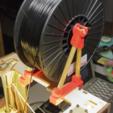Capture d'écran 2017-02-24 à 16.27.12.png Download free STL file  Thing-O-Matic Filament Spool Bracket • 3D printable object, WorksBySolo