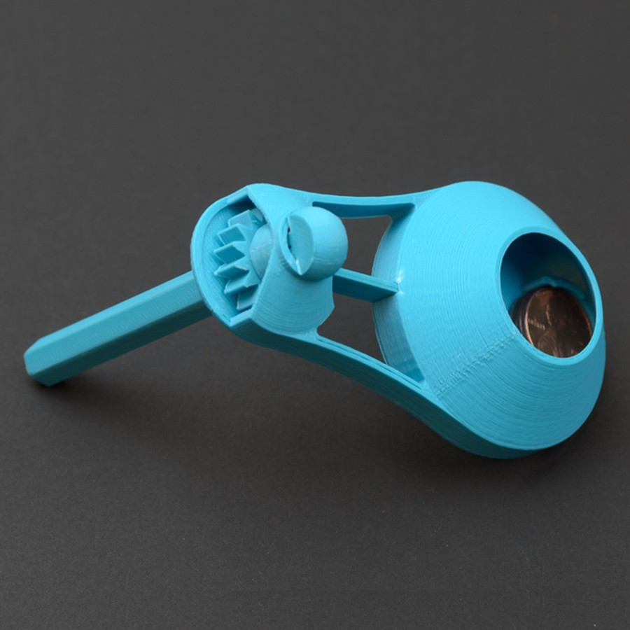 rsd.jpg Download free STL file Party Noisemaker • 3D printable object, WorksBySolo