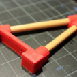Capture d'écran 2017-02-24 à 16.27.29.png Download free STL file  Thing-O-Matic Filament Spool Bracket • 3D printable object, WorksBySolo