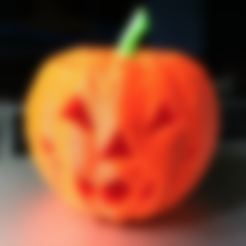 Download free 3D printing templates Jack-O-Lantern, WorksBySolo