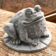 Capture d'écran 2017-02-24 à 16.39.49.png Download free STL file Garden Toad • 3D printing object, WorksBySolo