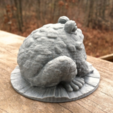 Capture d'écran 2017-02-24 à 16.40.02.png Download free STL file Garden Toad • 3D printing object, WorksBySolo
