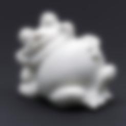 GARDEN_FROG.stl Download free STL file Garden Frog • 3D printable model, WorksBySolo