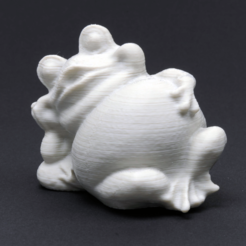 Free 3d printer designs Garden Frog, WorksBySolo