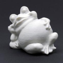 Descargar Modelos 3D para imprimir gratis Rana de jardín, WorksBySolo