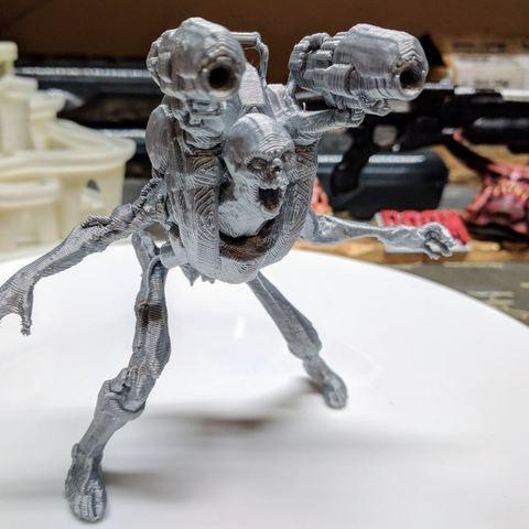 Revenant.JPG Download free STL file Revenant posed (Doom) • 3D printable object, Animalgel
