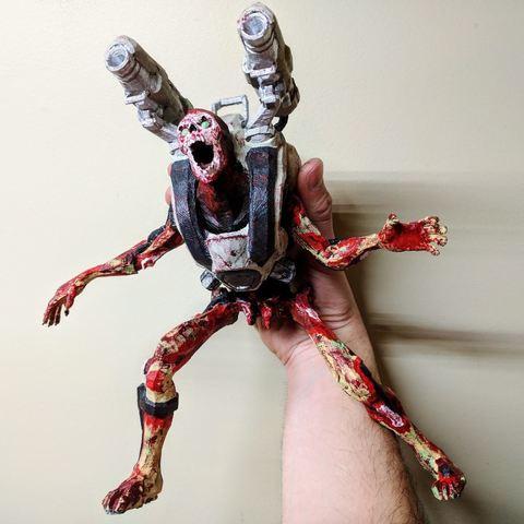 Télécharger fichier imprimante 3D gratuit Revenant posé (Doom), Animalgel