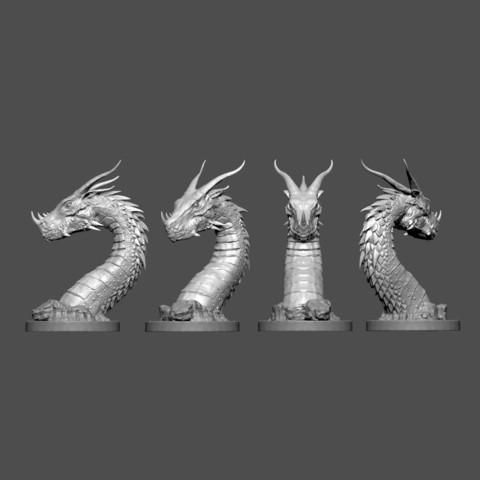 08.jpg Download STL file Era Dragon • 3D print object, Zhong