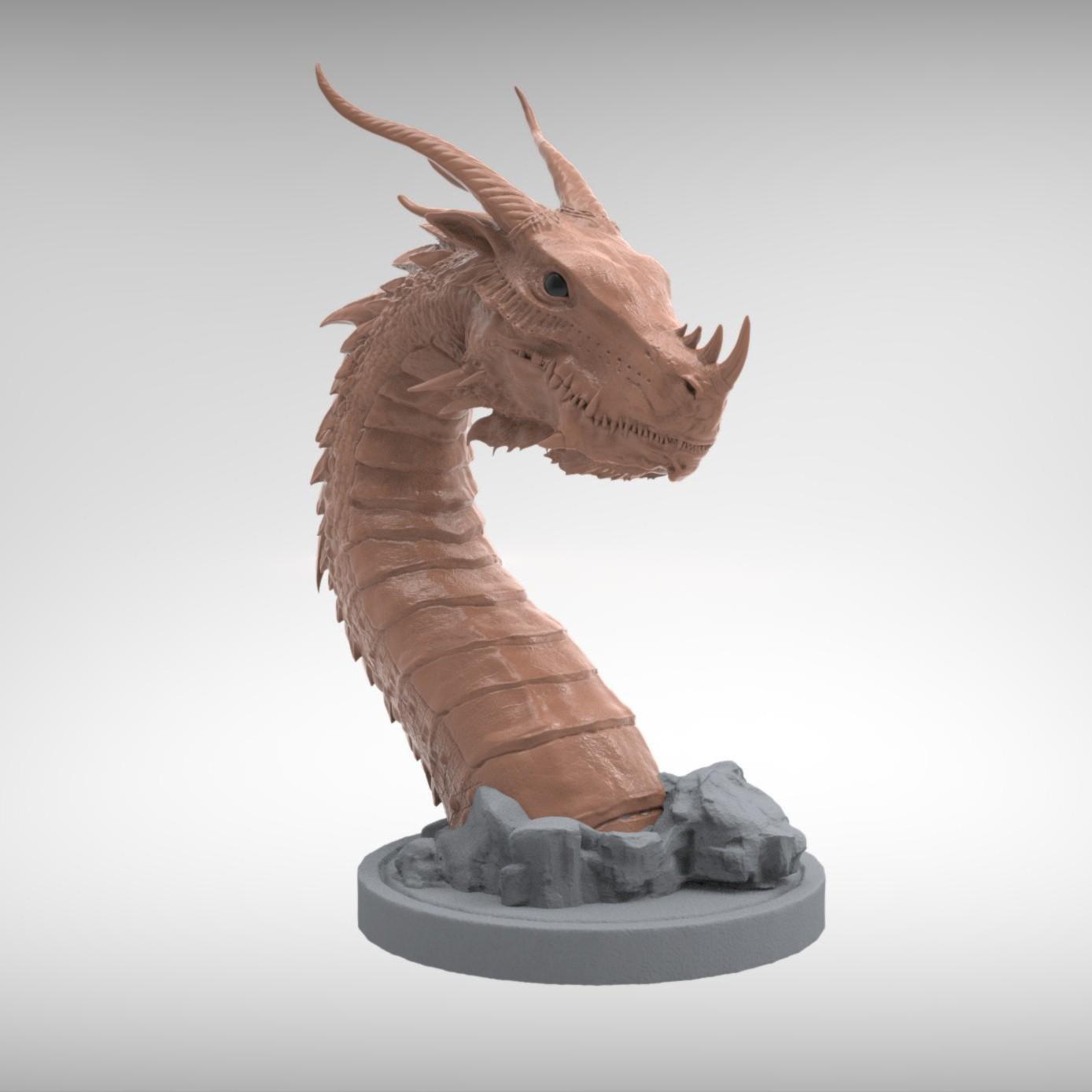 10.jpg Download STL file Era Dragon • 3D print object, Zhong