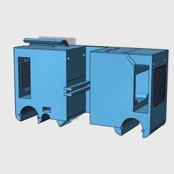 Télécharger fichier 3D gratuit Discoeasy200 - tete d'impression Compact double filament avec capteur BLTOUCH -V1.1, KSEF81