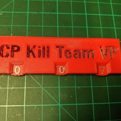 Download free 3D printing templates Kill Team Points Tracker, Mr_Disintegrator