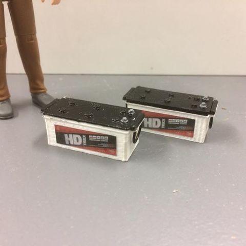 batterie pl.jpg Download STL file Battery for rc trucks • 3D print object, ConceptRCTruck