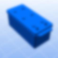Batterie PL_poignée.STL Download STL file Battery for rc trucks • 3D print object, ConceptRCTruck