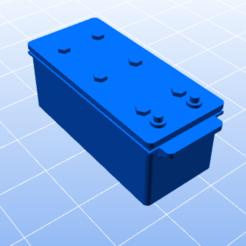 Descargar archivos STL Batería para camiones de RC, ConceptRCTruck