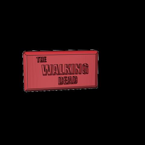 Free stl file logo the walking dead, omegaregulus