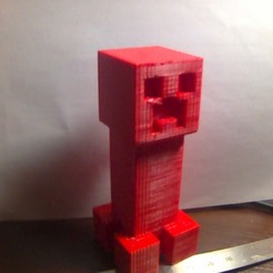 Download free STL file creeper minecraft, omegaregulus