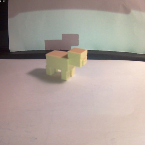 20171117_222227A.jpg Download free STL file minecraft pig • 3D print design, omegaregulus