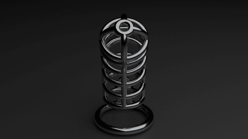 cage1.png Download STL file Chasity Cage • 3D print design, anythingelse
