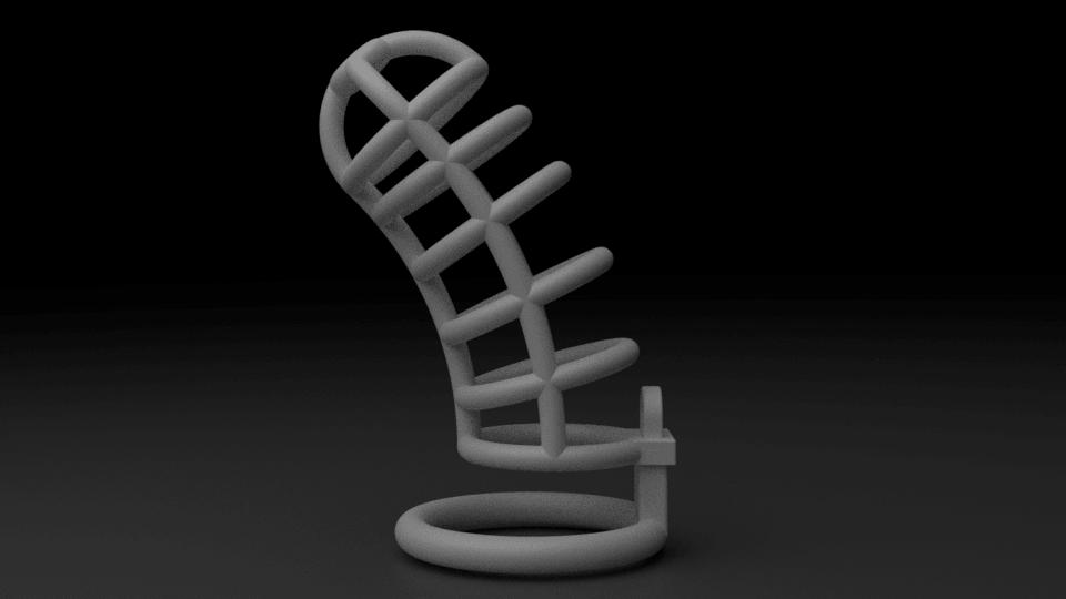 cage8.png Download STL file Chasity Cage • 3D print design, anythingelse