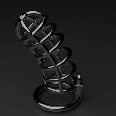 cage3.png Download STL file Chasity Cage • 3D print design, anythingelse
