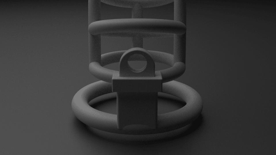 cage11.png Download STL file Chasity Cage • 3D print design, anythingelse