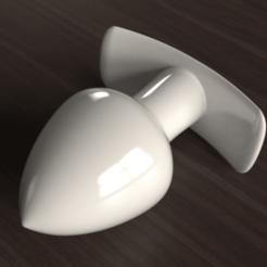 Download STL file Butt-Plug • 3D printable design, anythingelse