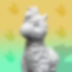 Alba_alpaca_final.stl Download free STL file Alba the Alpaca • 3D printer template, Erik_Glyphwood