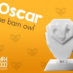 Impresiones 3D gratis Oscar el Búho, Bamboozaler