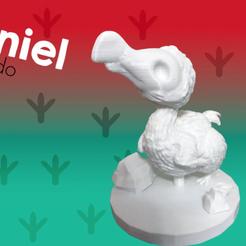 Imprimir en 3D gratis Daniel el Dodo, Bamboozaler
