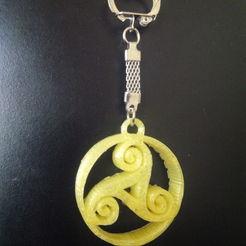 Descargar modelos 3D para imprimir celtic triskel, asturmaker3d