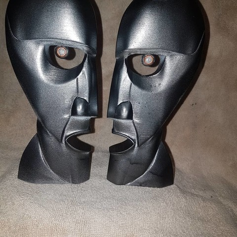 Download 3D printer designs The Division Bell Statue | Pink Floyd, okhrana