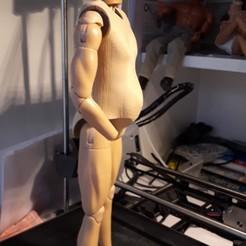 20190622_212900.jpg Download STL file 1/6 animatronic figure • Design to 3D print, rvgwen