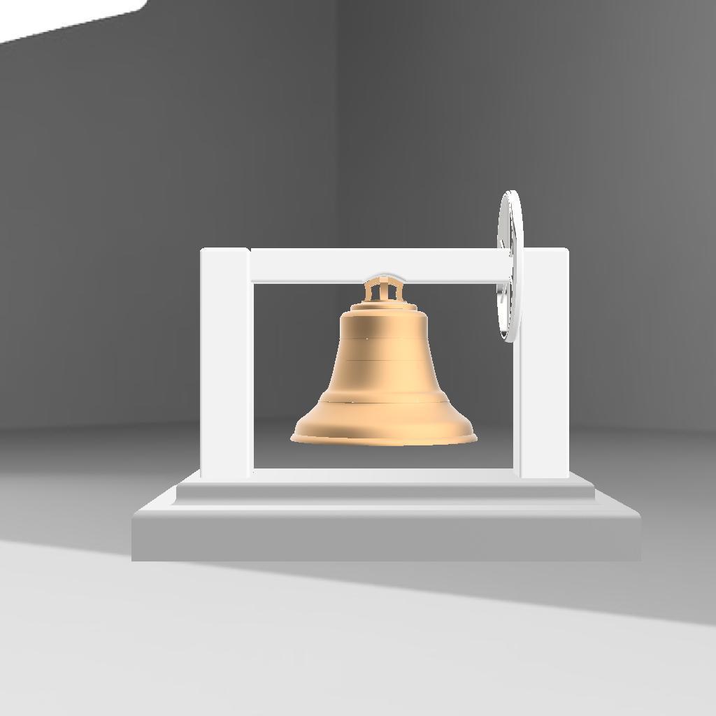 cloche.jpg Download STL file Bell on pedestal • 3D printable object, remus59