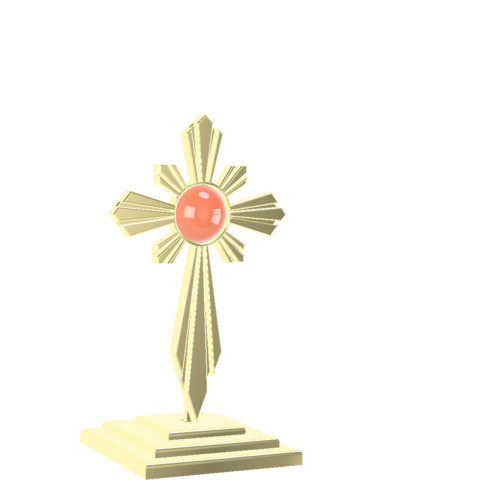 Modelos 3D para imprimir crucifijo, remus59
