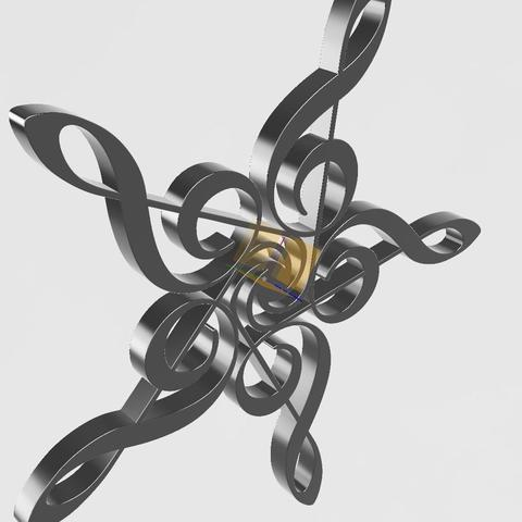 etoile clé v3.jpg Download STL file star in floor key • 3D printable design, remus59