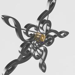 3D printer files star in floor key, remus59