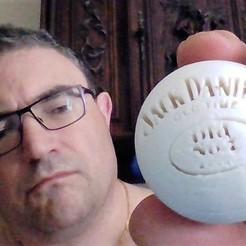 Download free STL files Ball jack daniel's, remus59