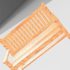 3D printer files outdoor bench, remus59