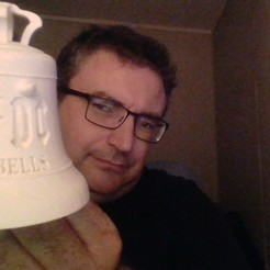 3d printer designs AC/DC bell with horns, remus59