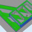 3D printer models SKY Q MINI BEHIND TV HANGING MOUNT VESA COMPATIBLE, beanieboy182