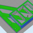200MMMOUNT.png Download STL file SKY Q MINI BEHIND TV HANGING MOUNT VESA COMPATIBLE • 3D printer template, beanieboy182