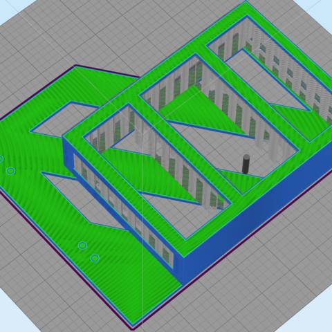 75100MMMOUNT.png Download STL file SKY Q MINI BEHIND TV HANGING MOUNT VESA COMPATIBLE • 3D printer template, beanieboy182